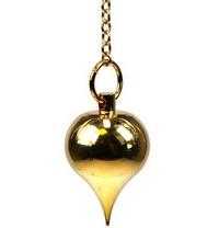Pendule LUZI laiton doré