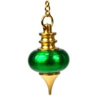 Pendule Mélissium Vert