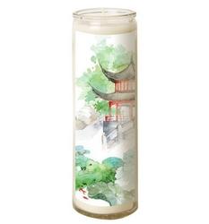 Bougie en verre – Japon Zen