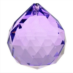 Cristal Feng Shui – arc en ciel – violet