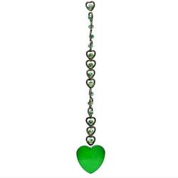 Cristal Feng Shui – Cœur vert